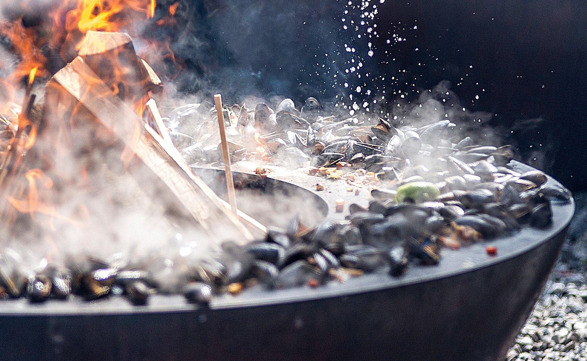 Das besondere Erlebnis – Grillen am Feuerring