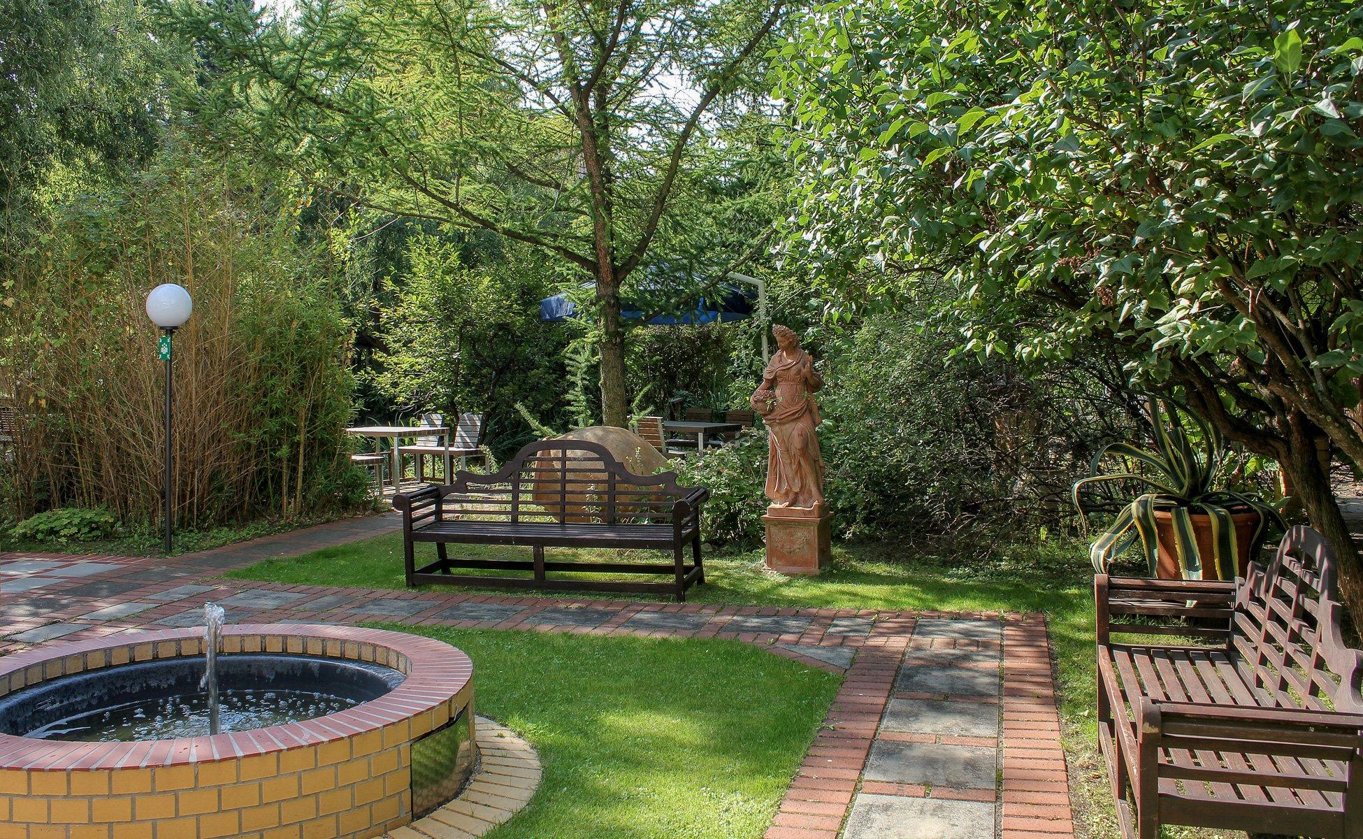 Hotel Grenzfall Terracotta-Garten