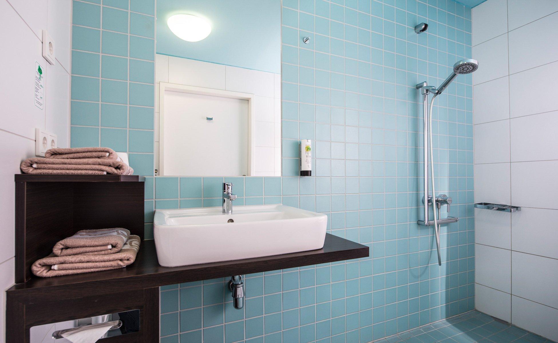 Hotel Grenzfall Klassik-Zimmer barrierefreies Bad
