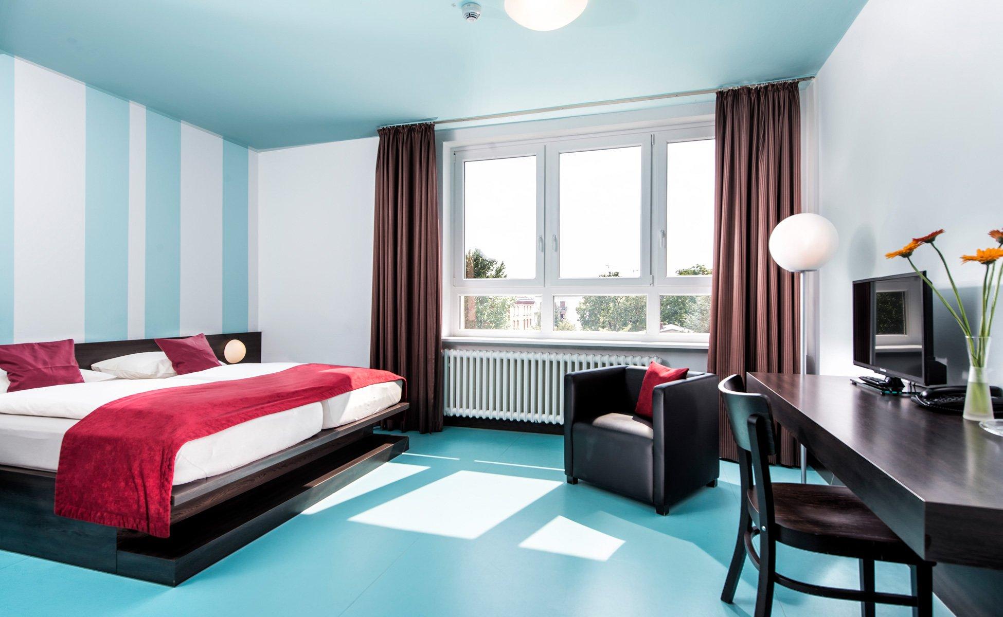 Hotel Grenzfall Klassik-Zimmer Gesamtansicht