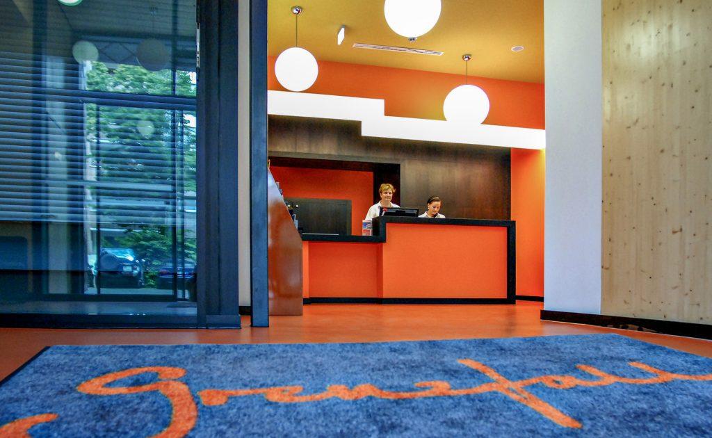 Hotel Grenzfall Lobby