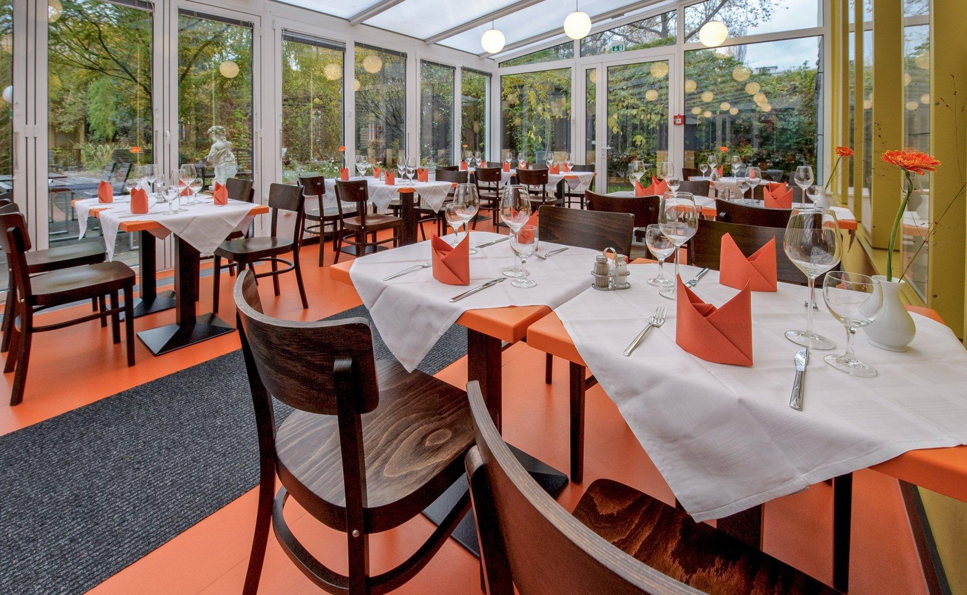 Hotel-Grenzfall Restaurant im Wintergarten